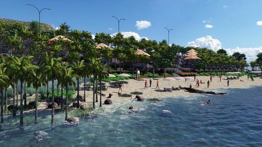 Chuẩn bị khởi công bãi biển riêng dự án Apec Mandala Wyndham Mũi Né
