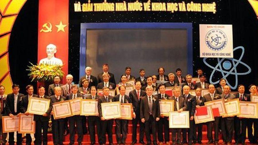 Tổ chức xét tặng 'Giải thưởng Hồ Chí Minh', 'Giải thưởng Nhà nước' về Khoa học công nghệ năm 2021