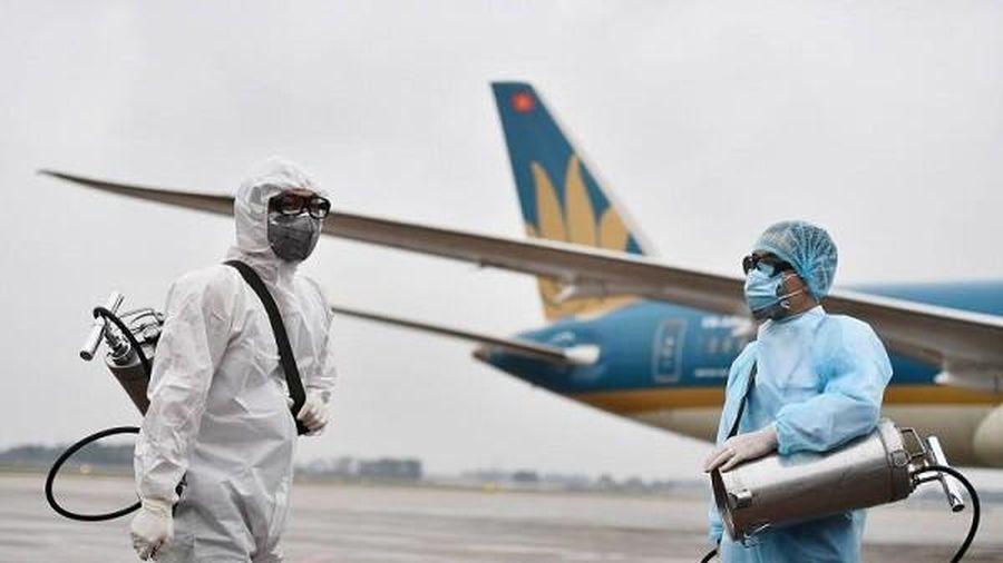 Thông báo thêm 3 chuyến bay có hành khách mắc Covid-19 mới về Việt Nam
