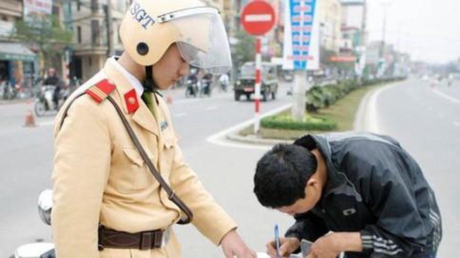 Nộp phạt vi phạm giao thông trực tuyến giảm nguy cơ lây nhiễm Covid-19