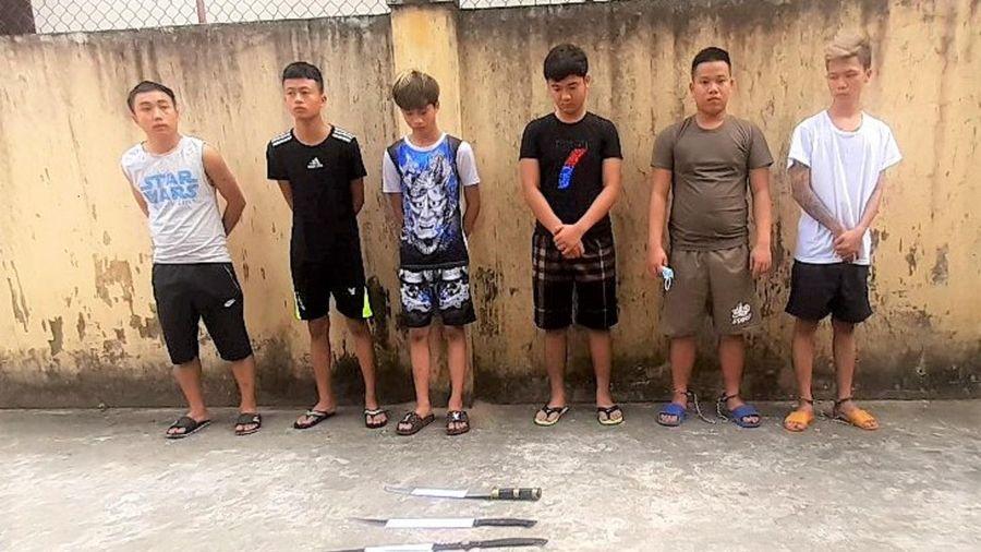 Quảng Nam: Tạm giữ 6 thanh niên xông vào quán nhậu chém người