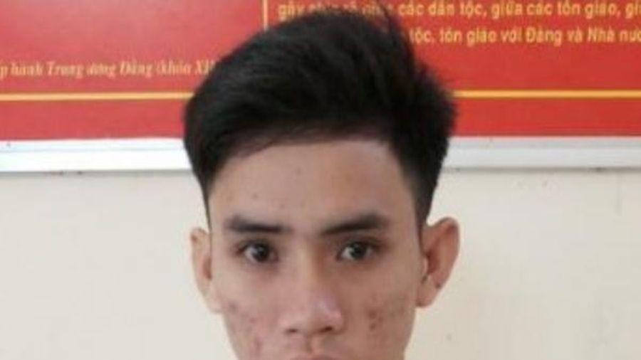 Bạc Liêu: 9x bị bắt sau 3 tháng trốn truy nã