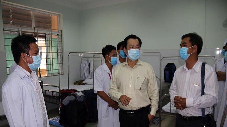 Bình Thuận có Trung tâm điều trị COVID-19 với 100 giường