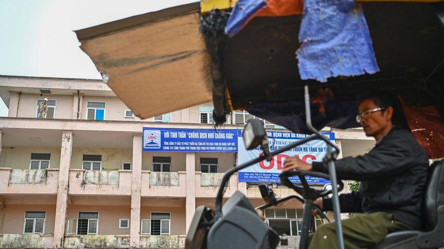 Bệnh viện bỏ hoang thành khu điều trị bệnh nhân mắc Covid-19