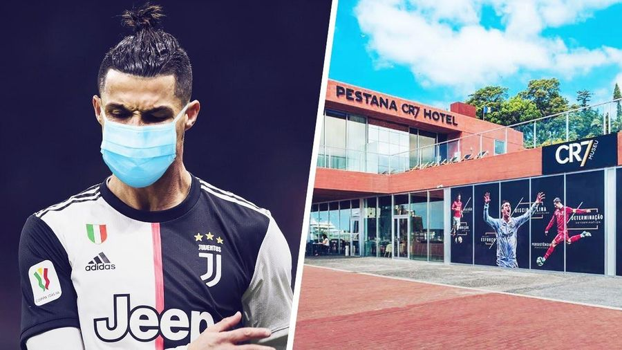 Ronaldo là nạn nhân của tin giả về virus corona