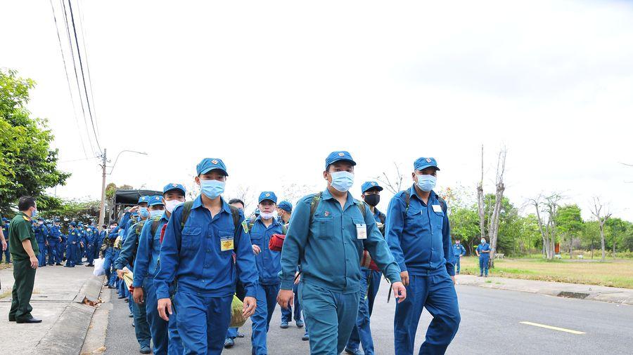 Bộ Tư lệnh TP Hồ Chí Minh điều hơn 300 quân hỗ trợ khu cách ly