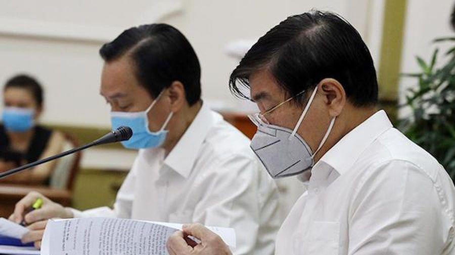 TP Hồ Chí Minh: Chủ động các phương án, không gục ngã trước dịch Covid-19