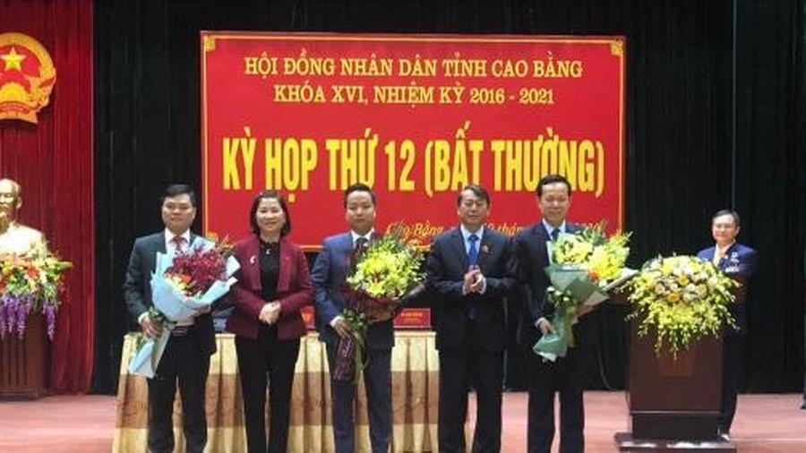 Ông Lê Hải Hòa được bầu giữ chức Phó Chủ tịch UBND tỉnh Cao Bằng