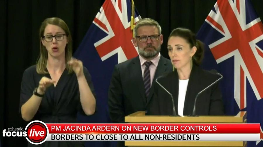 Australia, New Zealand cấm tất cả người nước ngoài nhập cảnh