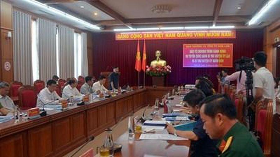 Tỉnh ủy Đắk Lắk bảo vệ Chương trình hành động dự tuyển chức danh Bí thư Huyện ủy Lắk và Buôn Đôn