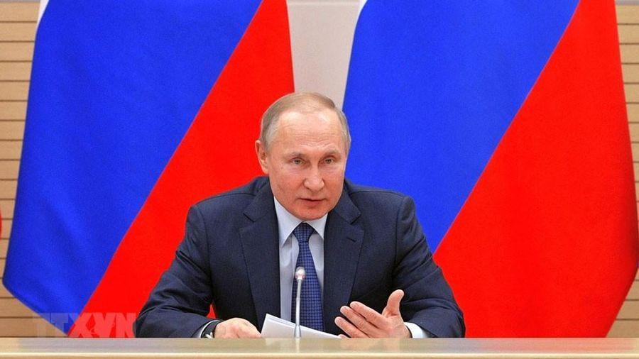 Tổng thống Nga ký sắc lệnh về trưng cầu dân ý
