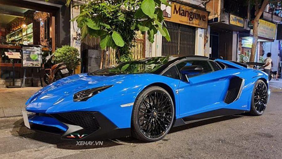 'Chạm mặt' Lamborghini Aventador SV gần 40 tỷ tại Việt Nam