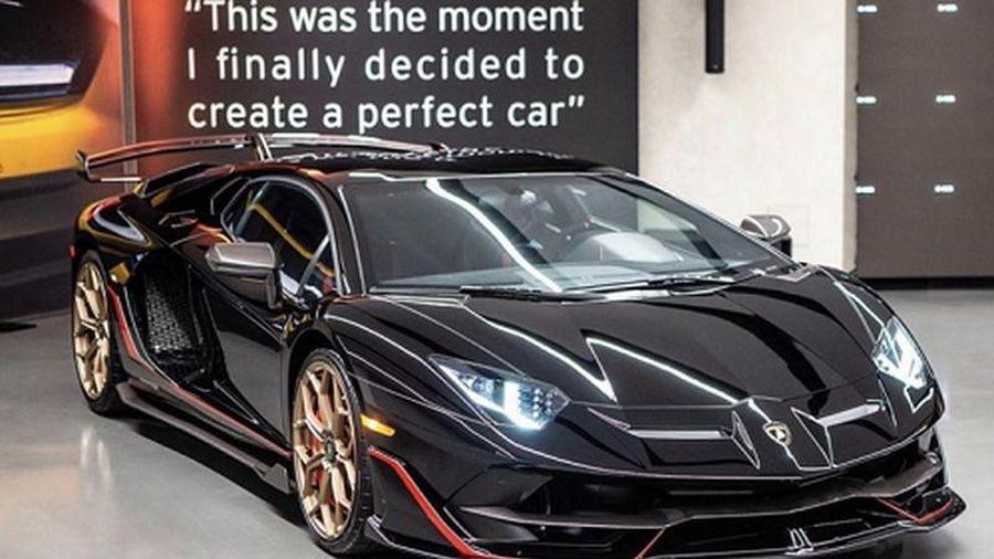 'Soi' siêu xe Lamborghini Aventador SVJ phối màu kịch độc