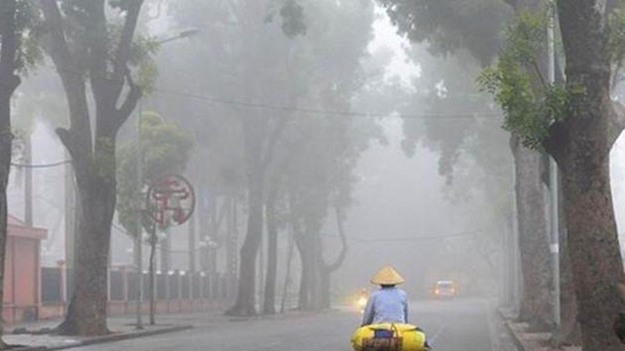 Thời tiết 19/3: Bắc Bộ mưa lạnh và sương mù