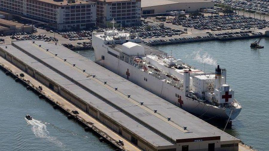 Dịch Covid-19: Mỹ điều siêu tàu bệnh viện đến New York ứng phó với dịch bệnh