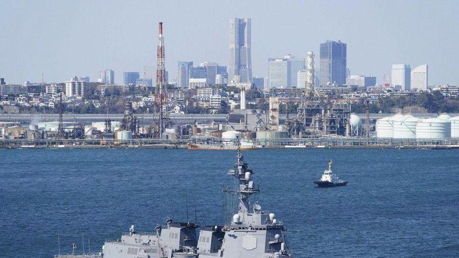 Nhật Bản triển khai tàu khu trục trang bị hệ thống phòng thủ tên lửa Aegis