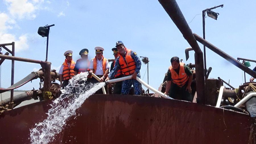 Cung cấp nước ngọt cho nhân dân các xã ven biển huyện Gò Công Đông