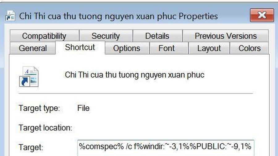Lợi dụng Covid 19, tin tặc giả thông báo của Thủ tướng để truyền mã độc
