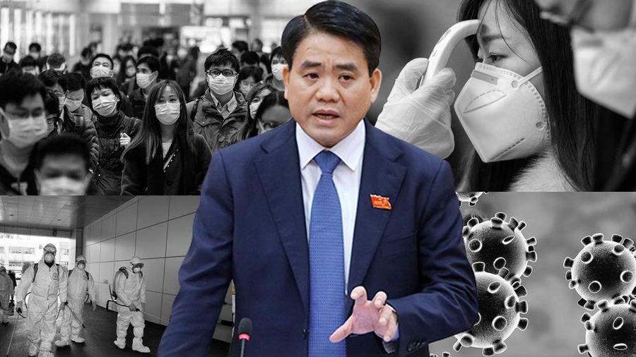 Chủ tịch Nguyễn Đức Chung: Hà Nội còn phải chiến đấu trong khoảng 10 tuần nữa