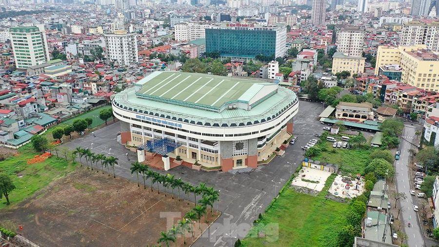 Cung thể thao Quần Ngựa sẽ thành điểm cách ly Covid-19 khu trung tâm Hà Nội