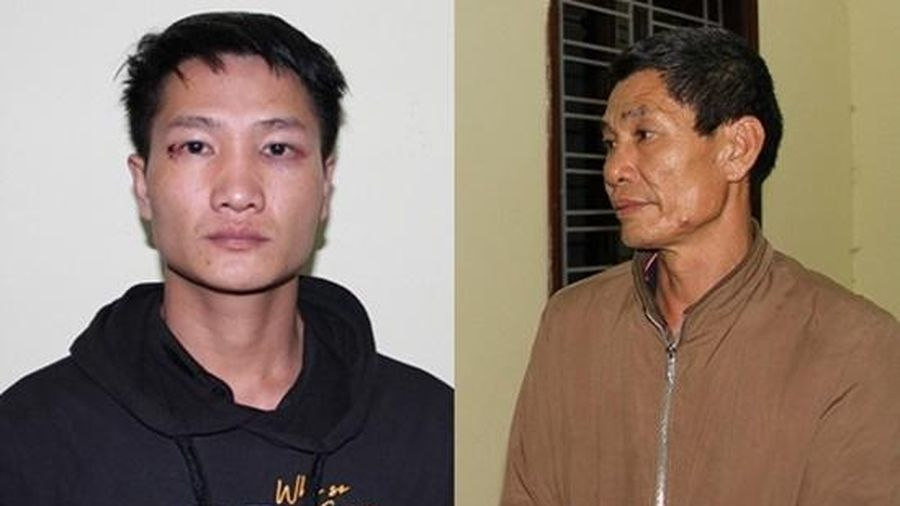 Tạm giữ 2 cha con trong vụ đâm chết người tại trụ sở UBND xã