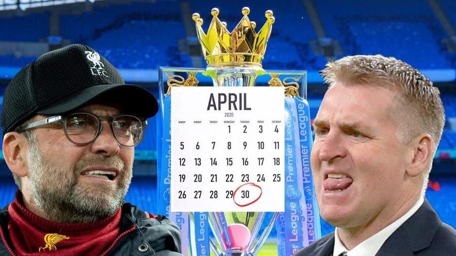 Ngoại hạng Anh hoãn đến 30/4, Liverpool thở phào