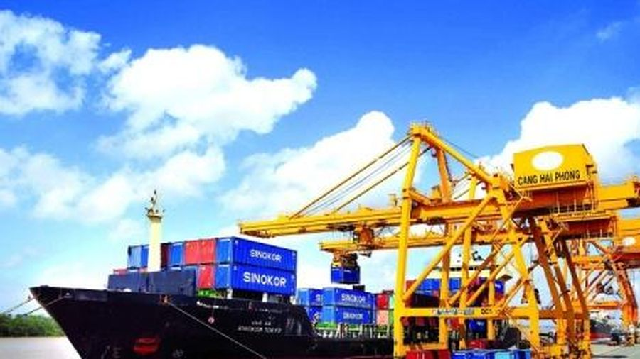 Tăng 6,8% tổng trị giá xuất nhập khẩu hàng hóa trong tháng 2