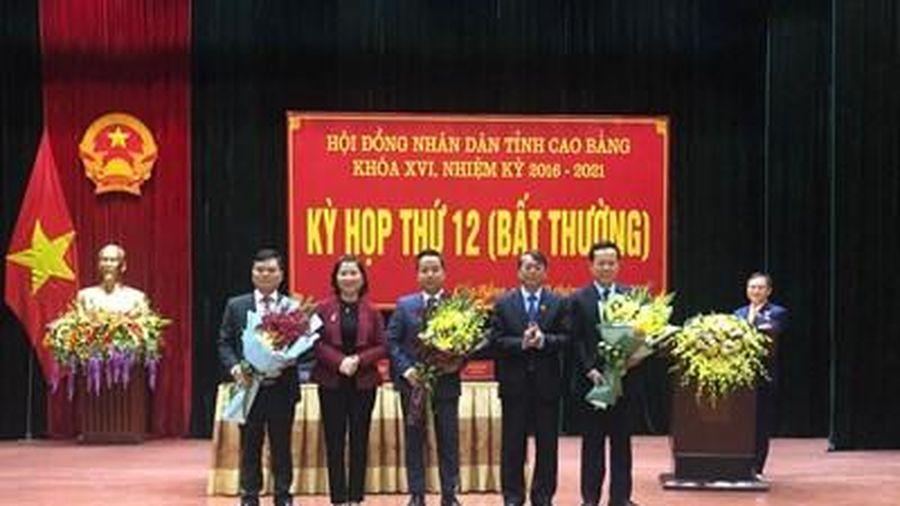Tỉnh Cao Bằng có Phó Chủ tịch 40 tuổi
