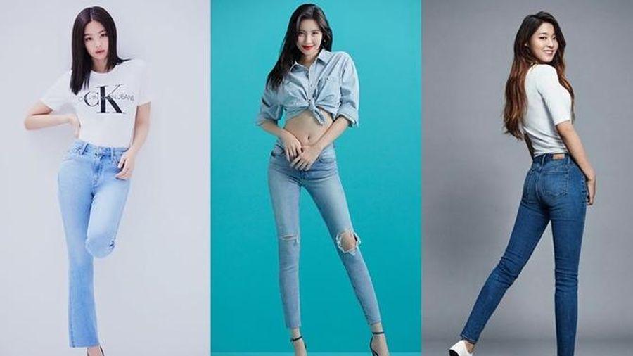 Điểm danh những mỹ nhân diện quần jeans quyến rũ nhất Kpop