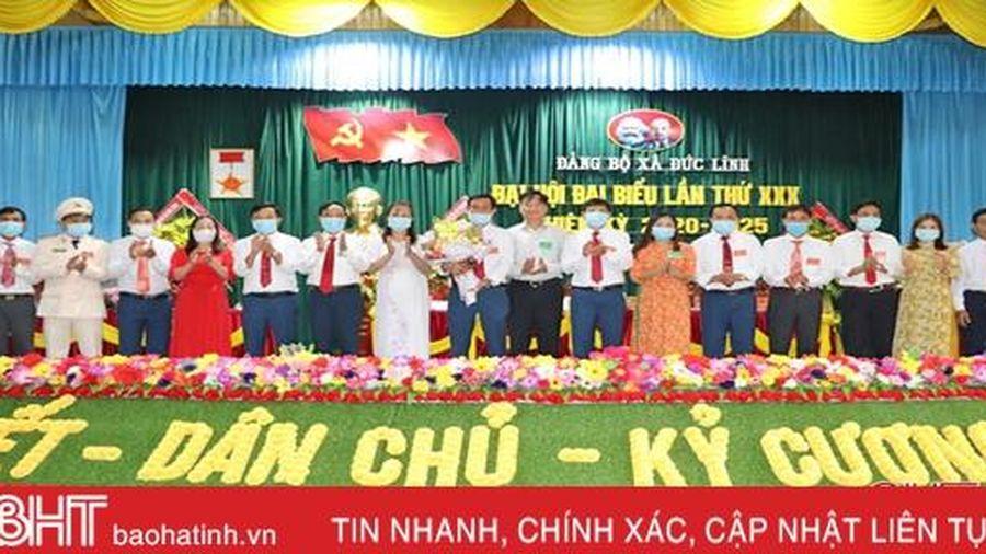 Ông Nguyễn Xuân Thê được bầu giữ chức Bí thư Đảng ủy xã Đức Lĩnh