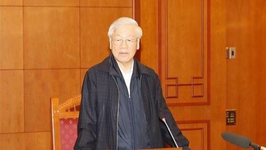 Tổng bí thư, Chủ tịch nước chủ trì họp Tiểu ban nhân sự Đại hội 13 của Đảng