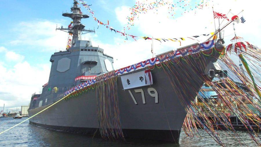 Nhật Bản đưa vào phiên chế tàu khu trục trang bị hệ thống Aegis