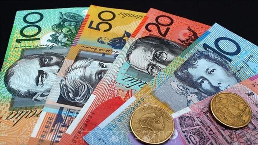 Đồng đô la Australia rơi xuống mức thấp nhất trong gần 20 năm