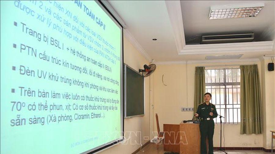 Các cơ sở y tế của Quân đội sẵn sàng xét nghiệm, phát hiện COVID-19