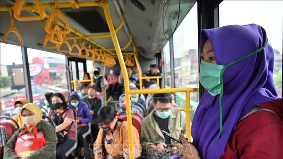 Số ca mắc COVID-19 tăng đột biến tại Indonesia