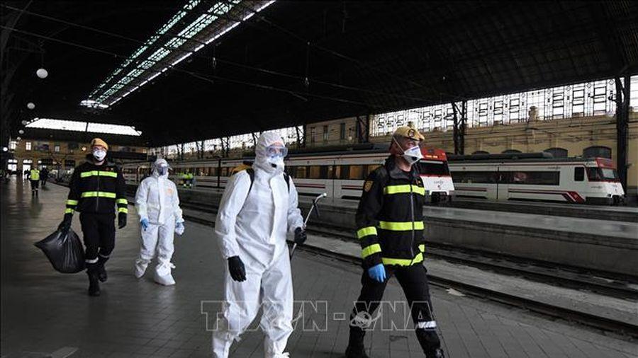 Thêm 209 ca tử vong, nâng tổng số tử vong tại Tây Ban Nha lên 767