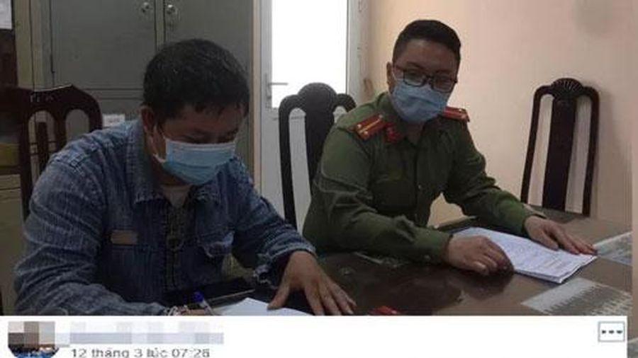 Hà Nội: Xử lý đối tượng tung tin thất thiệt về bệnh nhân số 21 nhiễm COVID-19
