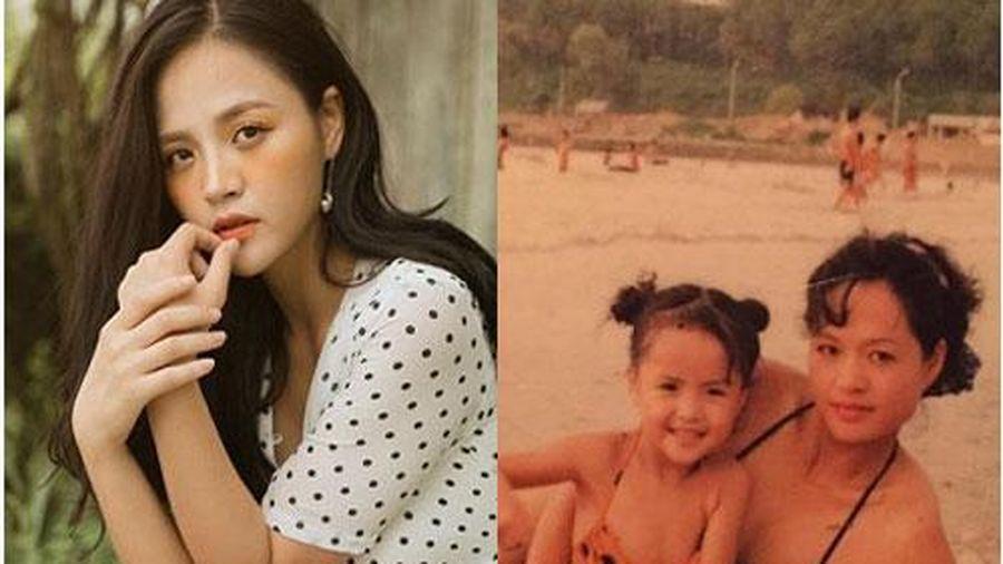 Thu Quỳnh bất ngờ tiết lộ về mẹ ruột: 'Mẹ đẹp và là thiên nga của sân khấu kịch'