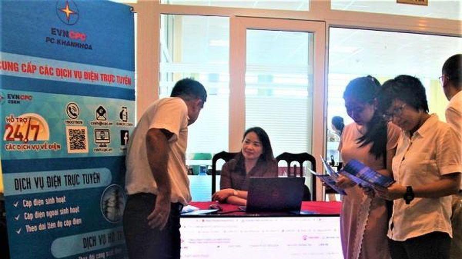 822 yêu cầu cấp điện mới được tiếp nhận qua các kênh trực tuyến tại Khánh Hòa
