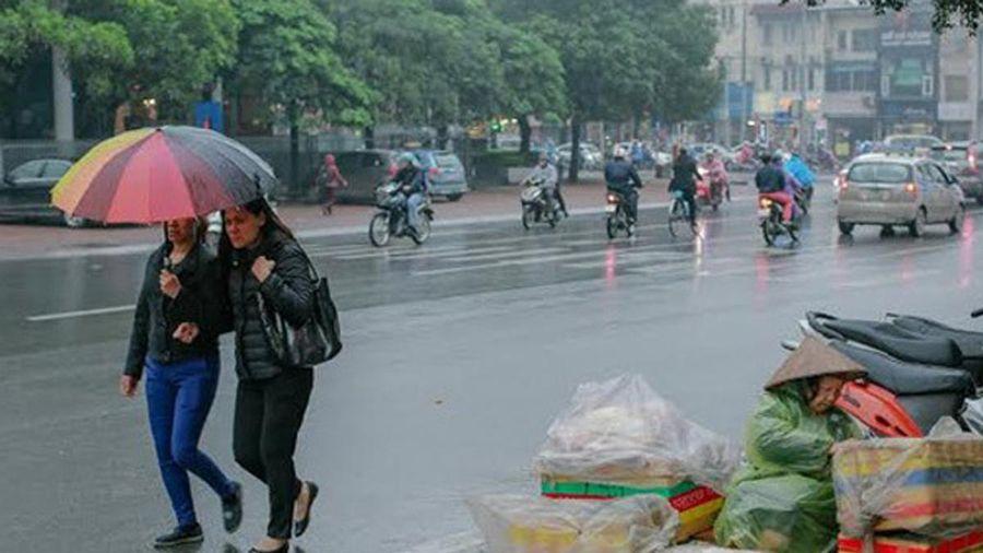 Dự báo thời tiết hôm nay (19/3): Bắc Bộ mưa phùn, trời lạnh