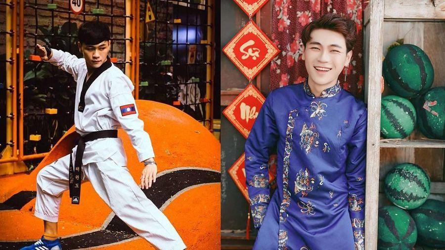 'Hot boy võ thuật Lào' chia sẻ niềm đam mê với Taekwondo, 'bật mí' lí do sang Việt Nam du học