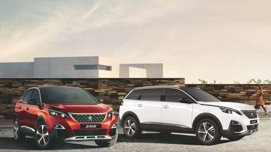 Bộ đôi SUV Peugeot 3008 & 5008 ra mắt hai phiên bản mới