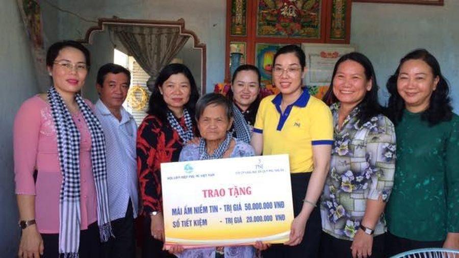 PNJ trao tặng 'Mái ấm niềm tin' cho ân nhân của nữ tướng Nguyễn Thị Định