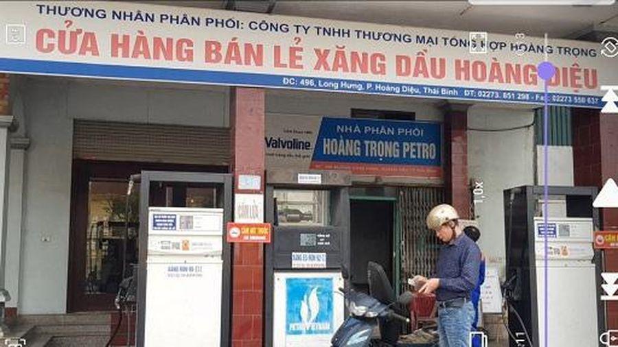 Thái Bình: Hàng loạt cửa hàng xăng dầu gian lận thương mại chiếm đoạt tiền của khách hàng