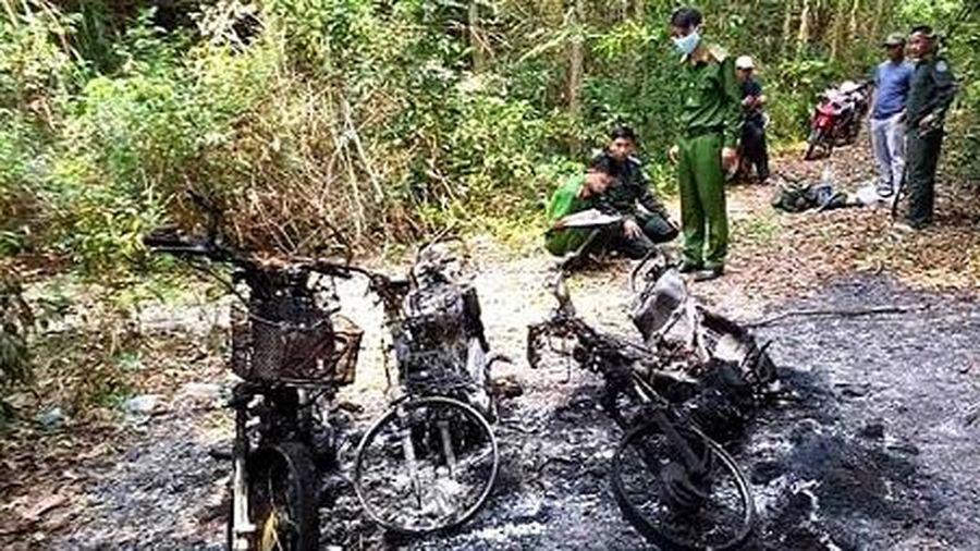 Thừa - Thiên Huế: Điều tra vụ 3 xe máy của cán bộ bảo vệ rừng bị cháy