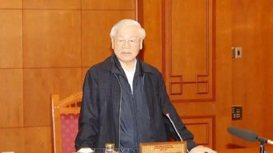 Tổng Bí thư, Chủ tịch nước: Chuẩn bị nhân sự cho Đại hội XIII là nhiệm vụ 'then chốt' của 'then chốt'