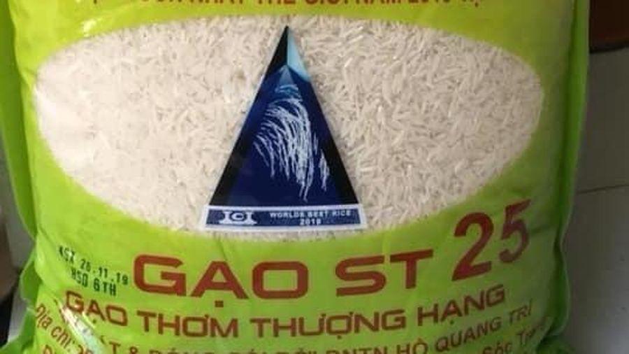 Tràn lan gạo ST25 nhái