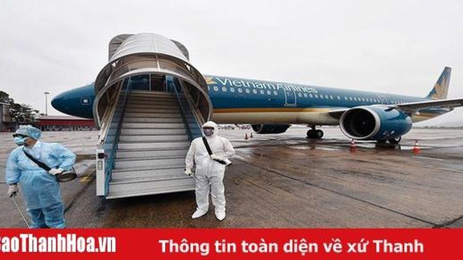Thêm 3 chuyến bay có ca mắc COVID-19, hành khách cần theo dõi sức khỏe