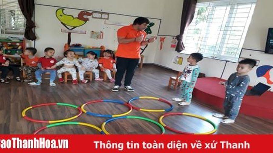 Xu hướng cho trẻ mầm non tiếp cận tiếng Anh