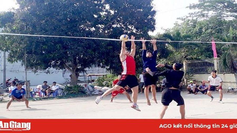 Phong trào thể dục - thể thao ở xã nông thôn Vĩnh Lợi